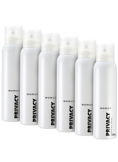Privacy Women Deodorant 6X150Ml Renkli